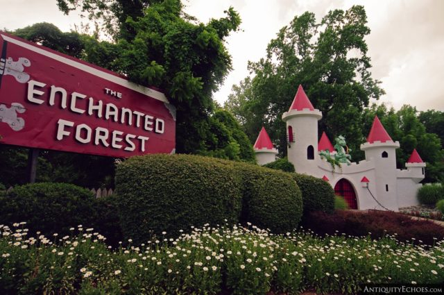 Enchanted Forest theme park, Ellicot City, Maryland