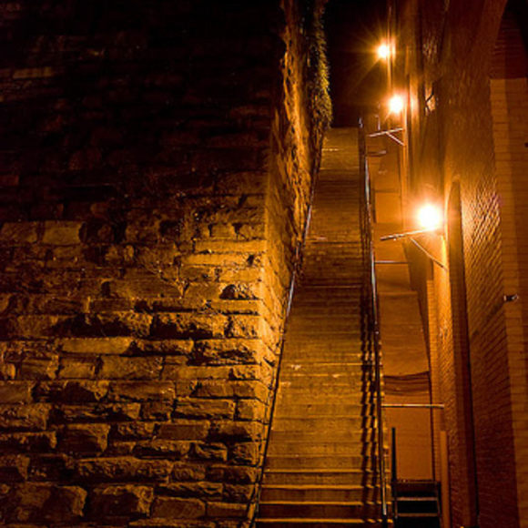The Excorcist Stairs in Georgetown
