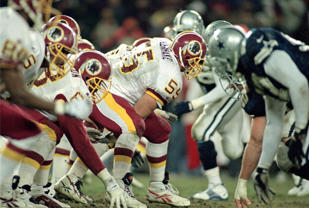 Redskins' last face off against the Cowboys at RFK Stadium