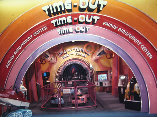 Time-Out arcade, Springfield Mall, Fairfax County, VA