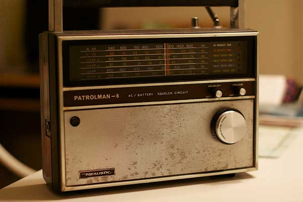 Old portable radio